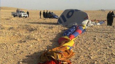 Прокуратура постановила задержать пилота упавшего в Луксоре воздушного шара