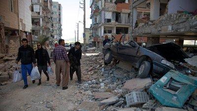 На границе Ирана с Ираком произошло землетрясение магнитудой 4,7