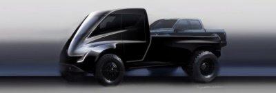 Илон Маск рассказал, что пикап Tesla будет крупнее Ford F-150