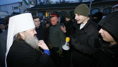 Украинские радикалы разблокировали вход в Киево-Печерскую лавру