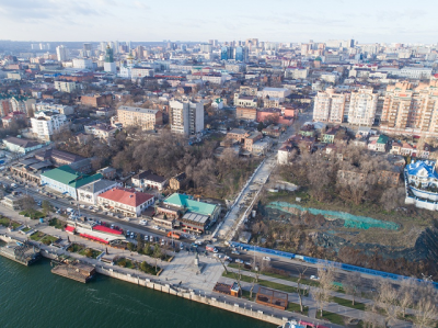 Под Казанской лестницей в Ростове нашли подземную реку