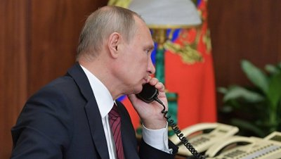 Путин провел телефонный разговор с премьером Италии
