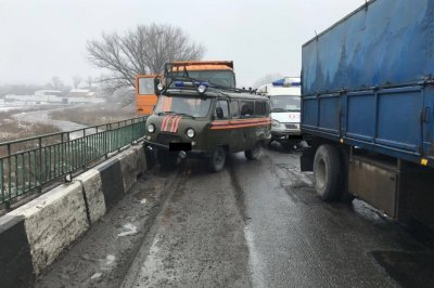 На трассе М-4 «Дон» столкнулись восемь автомобилей