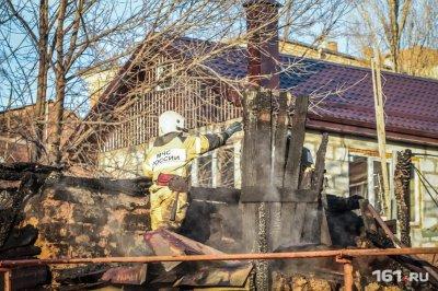 В Шахтах в собственном доме заживо сгорела пенсионерка