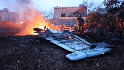 В Сирии сбили российский Су-25