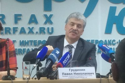 Главный конкурент Путина на выборах — в Ростове: о чем Грудинин говорил с горожанами