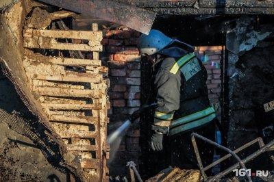 В Неклиновском районе сгорел двухэтажный дом: есть жертвы