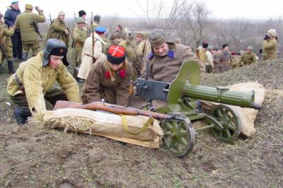 Донские любители военной истории освободили Ростов от немецко-фашистских захватчиков