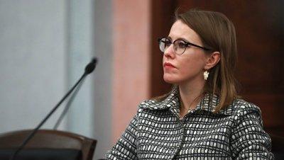 Собчак предложила установить гражданский контроль над военным бюджетом