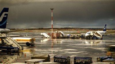 В Хельсинки в самолете загорелся багаж, рейс задержали