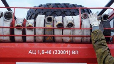 В Воронежской области ликвидировали возгорание на газопроводе