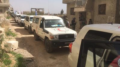 МККК призвал отправить новые гуманитарные конвои в Восточную Гуту