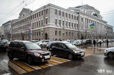 Во вторник вечером Ростов встал в десятибалльных пробках