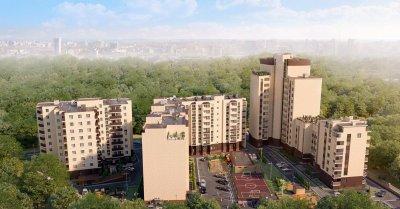 Сдан новый дом комфорт-класса в зеленой роще за стадионом СКА