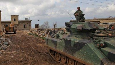 Курдские ополченцы отразили одну из атак протурецких сил в Африне