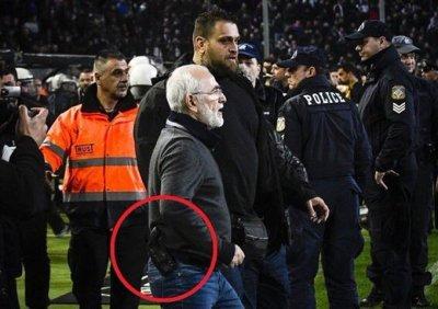 После инцидента с донским бизнесменом Иваном Саввиди в Греции приостановили футбольный чемпионат