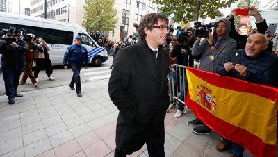Пучдемон подал апелляцию на решение ВС обвинить его в организации восстания