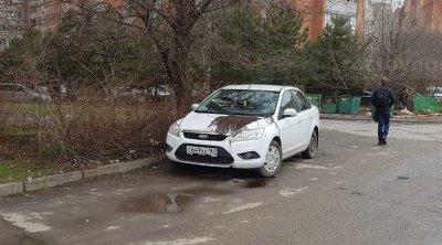 Наказали за неправильную парковку: на Западном облили краской три иномарки