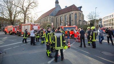 Полиция уточнила число жертв атаки в Мюнстере