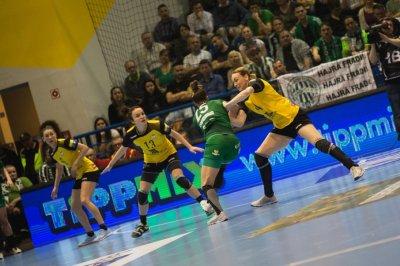 ГК «Ростов-Дон» в напряженном матче обыграл команду из Венгрии в четвертьфинале Лиги чемпионов