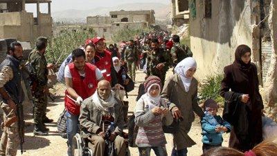 В трех сирийских провинциях за сутки 967 человек вернулись в свои дома