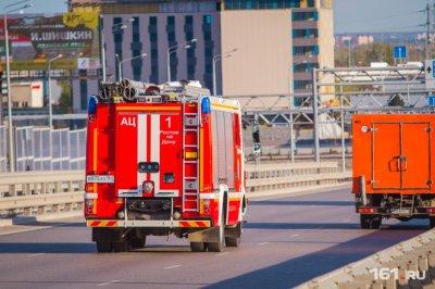 При пожаре в Таганроге погибли два человека