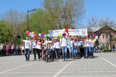 В Белой Калитве прошло шествие посвящённое Первому Мая
