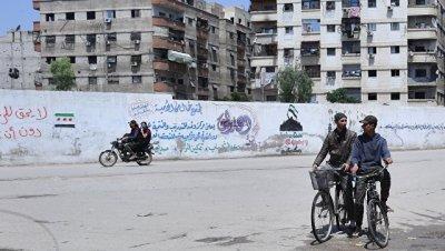 В Сирии начали выводить боевиков из Мухайям-эль-Ярмука