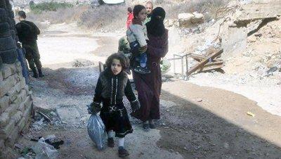 За сутки в свои дома в Сирии вернулись 350 мирных жителей
