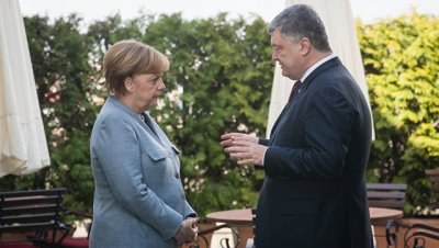 В Германии пройдет встреча Меркель, Макрона и Порошенко