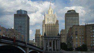 В МИД прокомментировали нападение на главу Россотрудничества в Киеве