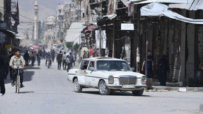 В центре Дамаска взорвался заминированный автомобиль