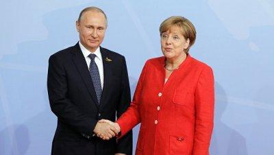 Путин и Меркель 18 мая обсудят соглашение по Ирану, Сирию и Украину