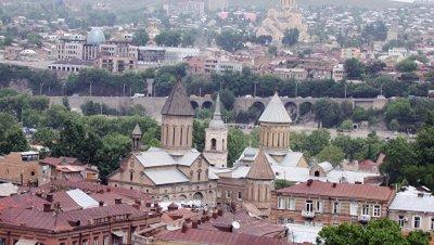 Глава МВД Грузии прибыл на акцию протеста в Тбилиси