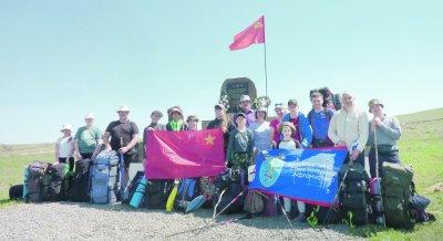 17 спортсменов из Белокалитвинского района совершили трехдневный поход по местам боевой славы