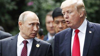 Путин надеется на конструктивный диалог с Трампом