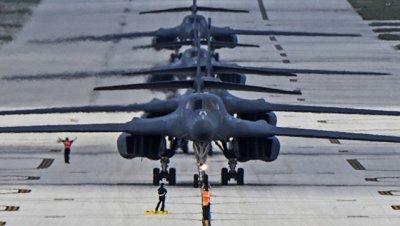 ВВС США приостановили полеты бомбардировщиков В-1B