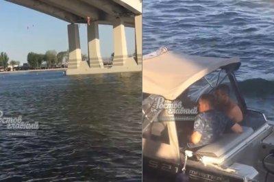 Парень спрыгнул с Ворошиловского моста и остался жив