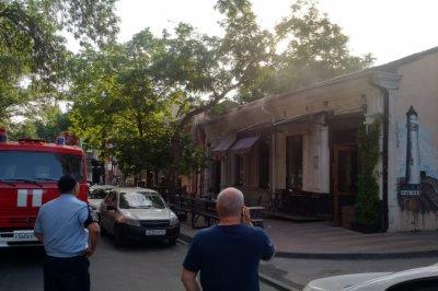 В Ростове загорелось вегетарианское кафе «Колючка»