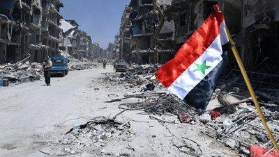 Жителям сирийской Бабиллы передали более 400 продовольственных наборов