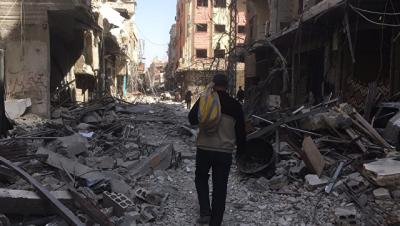 Почти 340 сирийцев за сутки вернулись в провинции Хомс и Восточной Гуте
