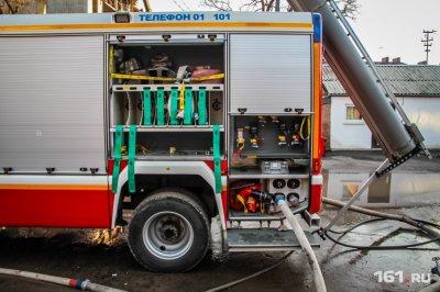 В Ростове загорелось здание медицинского колледжа
