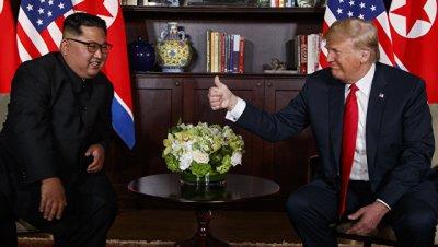 Трамп заявил Ким Чен Ыну о прекращении учений, пока идут переговоры