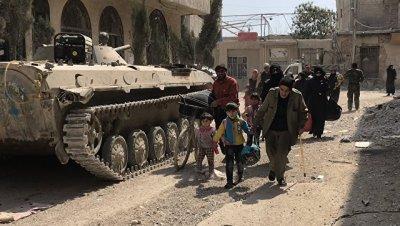 В Хомсе и Восточной Гуте за сутки обезвредили десятки взрывных устройств