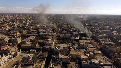 Террористы обстреляли город Дераа, два человека погибли