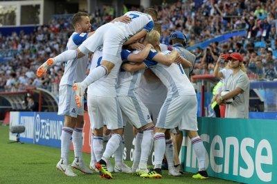 «Спасибо за теплый прием!»: сборная Исландии поблагодарила Россию после матча в Ростове