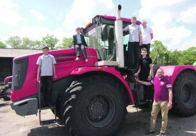 Жители Белокалитвинского района побывали на хозяйстве ТНВ «Пузанов и К»