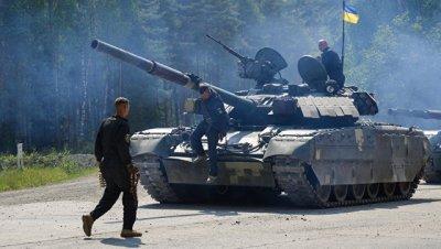 в Минобороны Украины отреагировали на провал своих танков на биатлоне