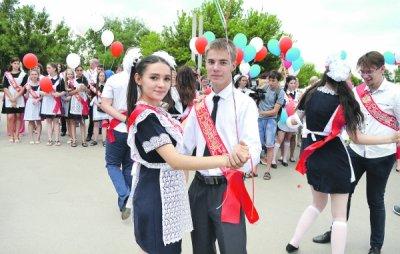 В минувшую пятницу в Белой Калитве прошел выпускной бал «Алые паруса».
