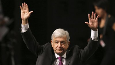 Обрадор набирает почти 53 процента на выборах президента Мексики